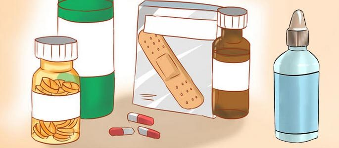 Комплекс мер для лечения аллергической реакции