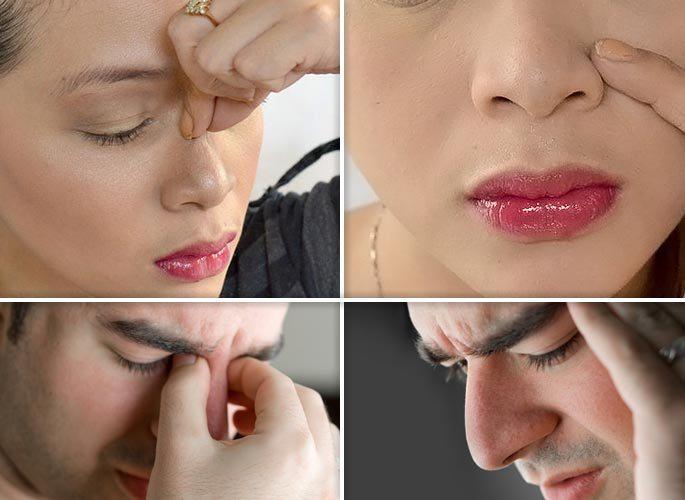 Симптомы при отсутствии выделений из носа