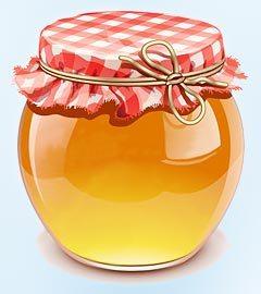 Как сделать медовую лепешку от гайморита