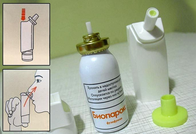 биопарокс для носа инструкция