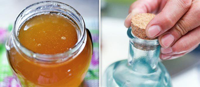 Мазь и мёда и водки