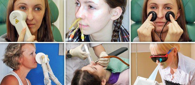 Физио- и терапевтические процедуры