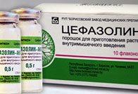 Применение и дозировка цефазолина при гайморите