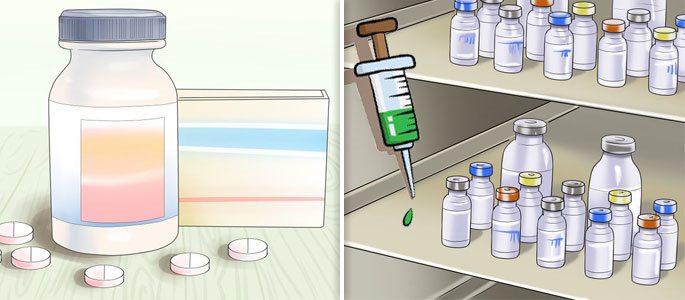 Медикаментозное лечение антибиотиками