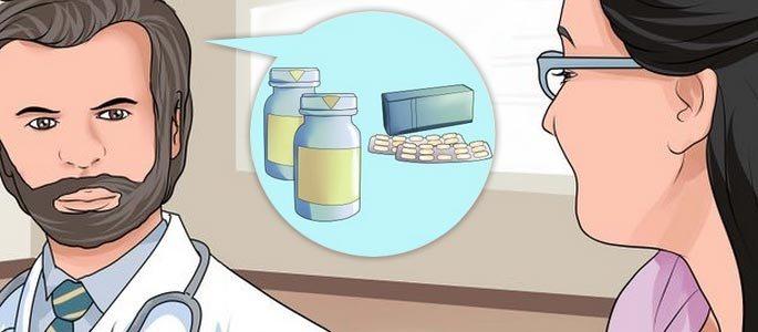 Врачом подбираются самые подходящие антибиотики
