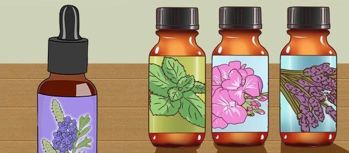 Природные масла из растений в качестве назальных капель