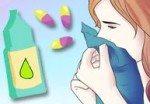 Лечение сильного насморка