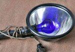 Синяя лампа Минина при насморке