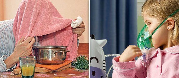 Ингаляция насморк в домашних условиях