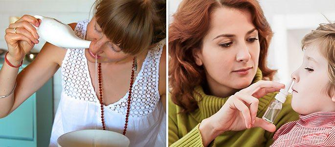 Чем лечить гнойный насморк в домашних условиях