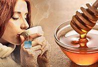 Лечение ангины мёдом