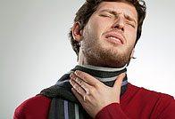 Больное горло при фарингите